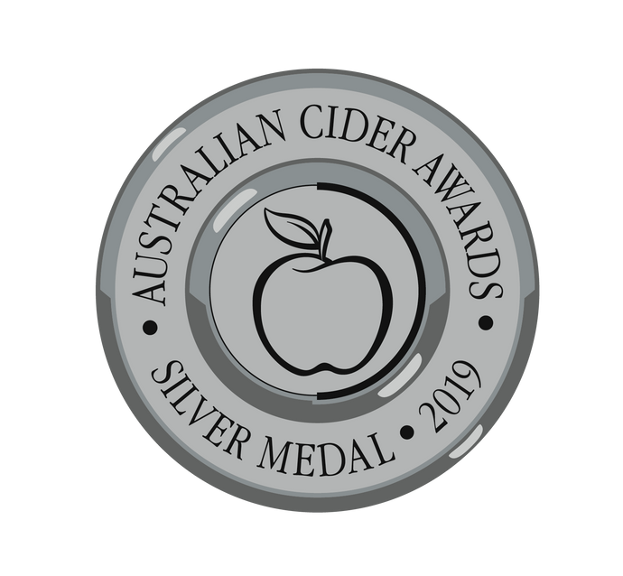 Silver in 2019 Australian Cider Awards !!