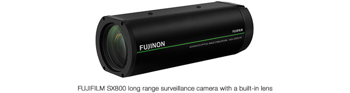 "Fujifilm releases long range surveillance camera with built-in lens ""FUJIFILM SX800"""