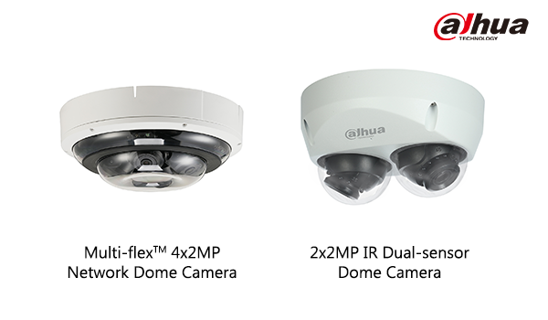 New Dahua Multi-Sensor Cameras Offering More Flexible Security Options