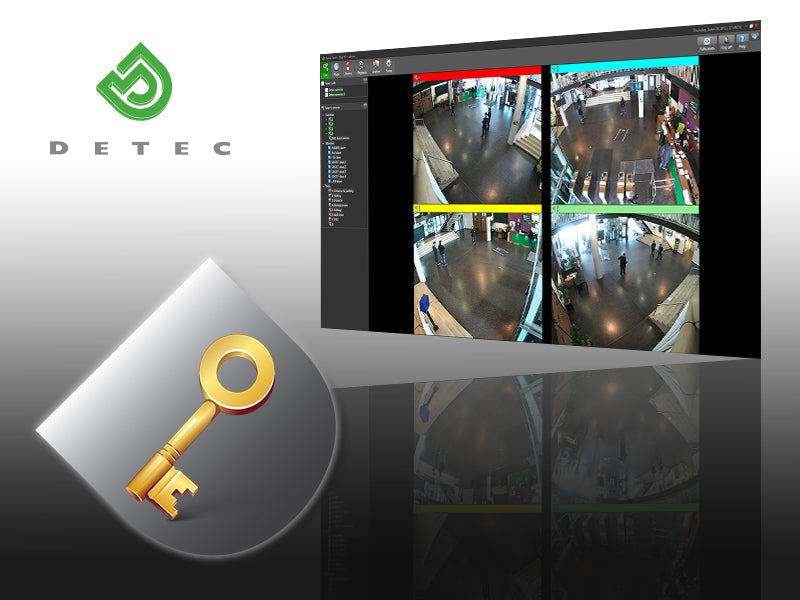 Detec Next Software - new system license key