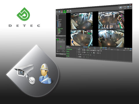 Detec Next Advanced+ Camera License