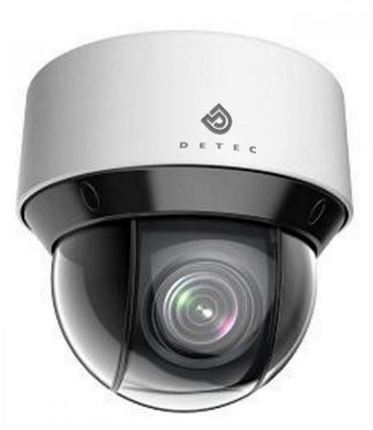 Detec DTC-MDIRPTZ4MP25XHP Full HD Minidome IR PTZ IP Camera, 25x Zoom