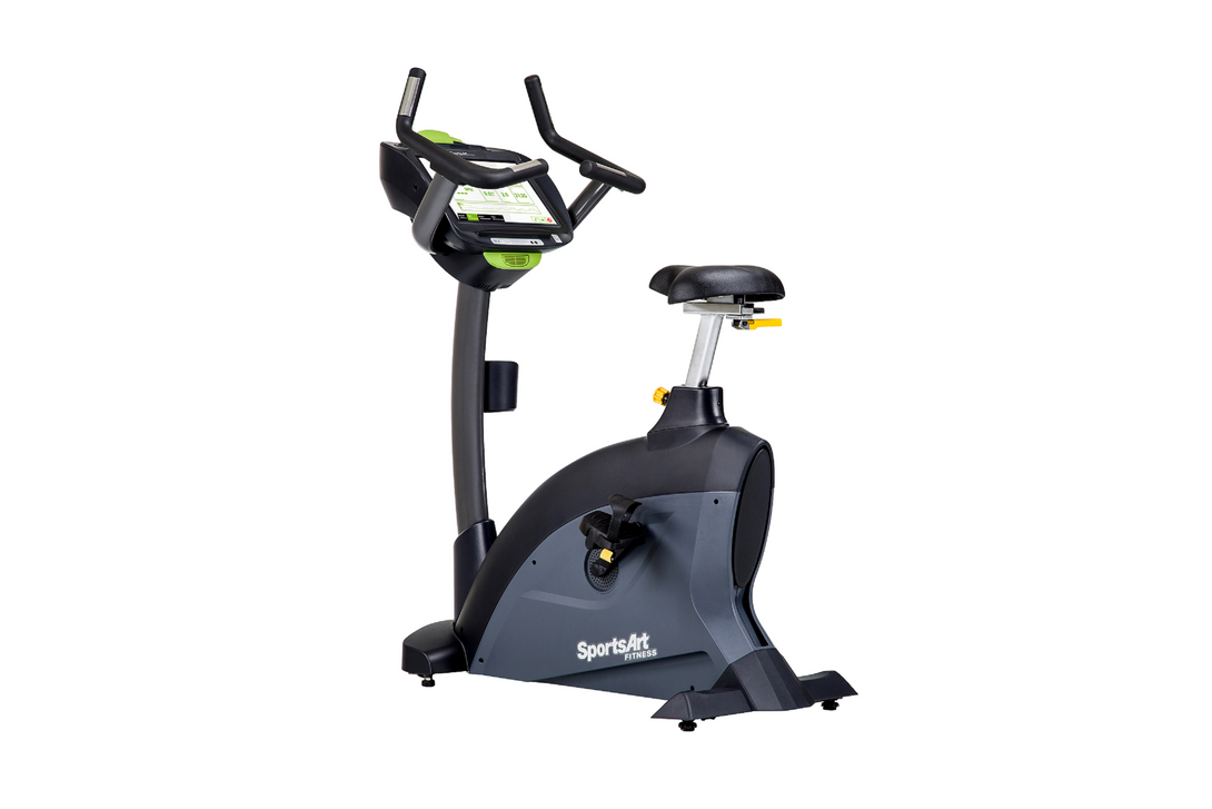 SportsArt C545U PERFORMANCE Self Generating Upright Cycle - 16