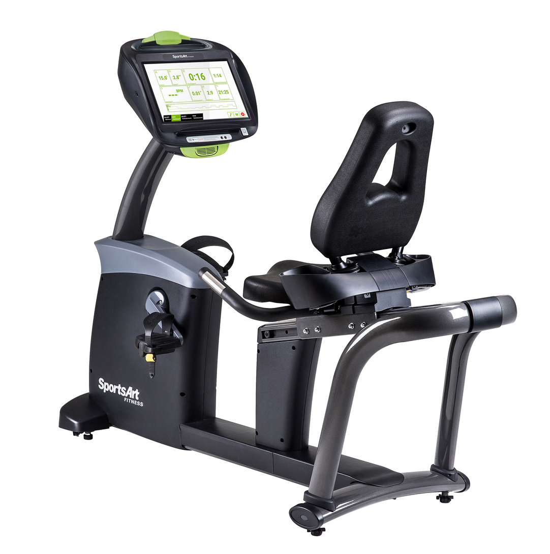 SportsArt C575R-16 STATUS Recumbent Cycle - 16' SENZA Touchscreen Display Console