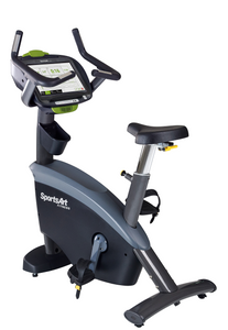 "SportsArt C575U STATUS Upright Cycle - 16"" SENZA Touchscreen Display Console"