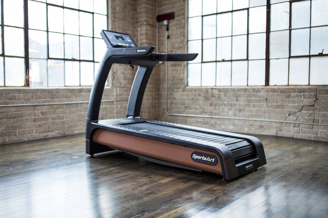 SportsArt N685 VERDE STATUS ECO-Natural Treadmill - Self-Powered/Unmotorized