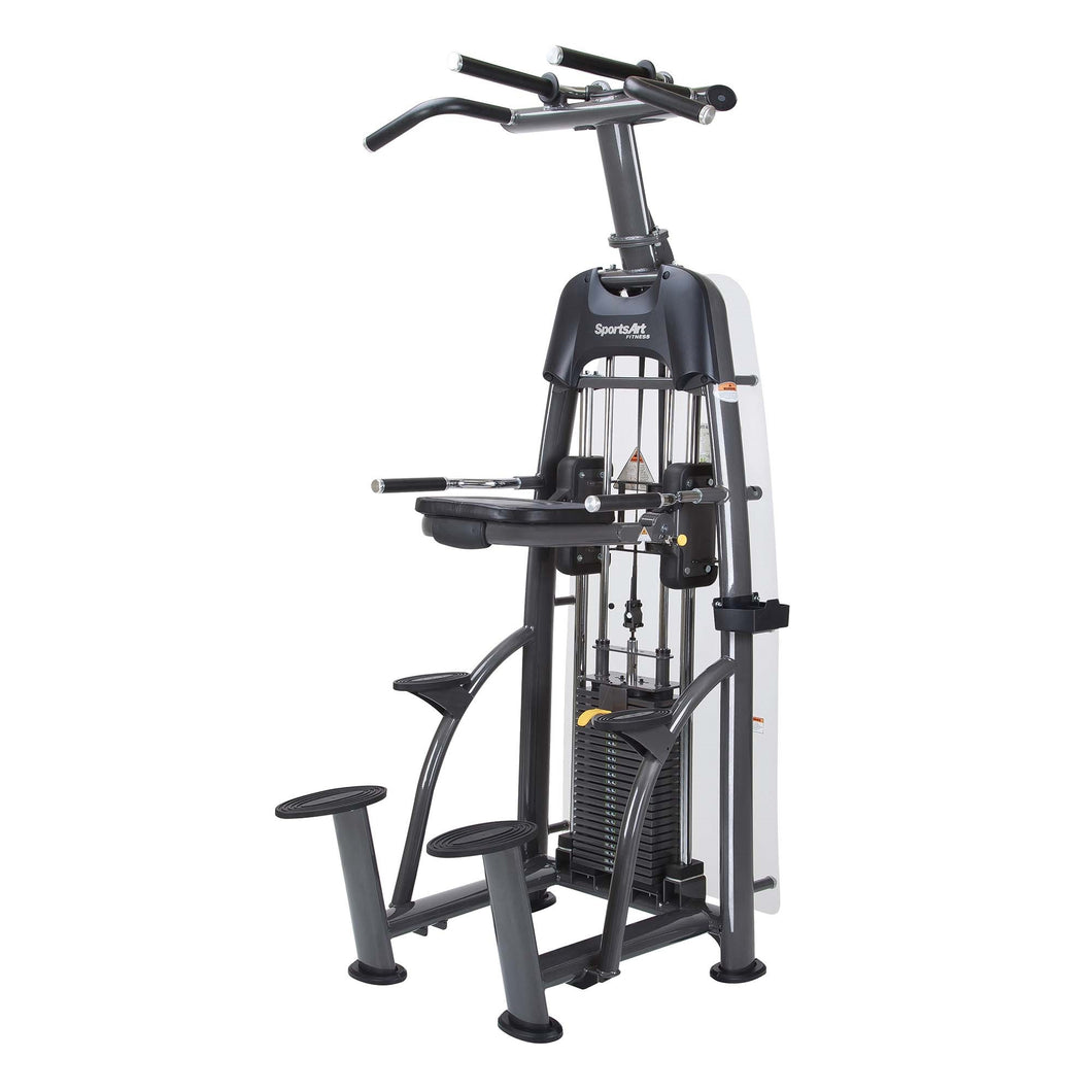 SportsArt S911 STATUS Assisted Chin-Up and Tricep Dip Machine