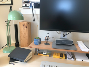 A Refreshed Desk Set-Up = Success