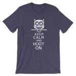 KEEP CALM AND HOOT (REVERSE) Unisex T-Shirt