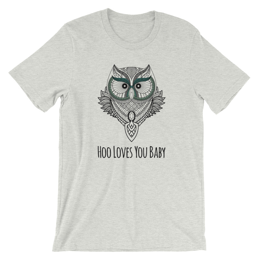 GREEN WIDE EYED BABY/UNISEX T-SHIRT