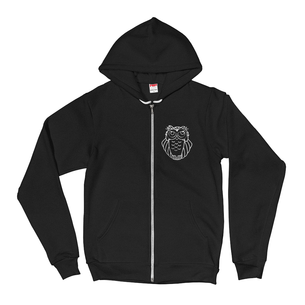 SERIOUSLY/SOFT BLEND ZIP HOODIE