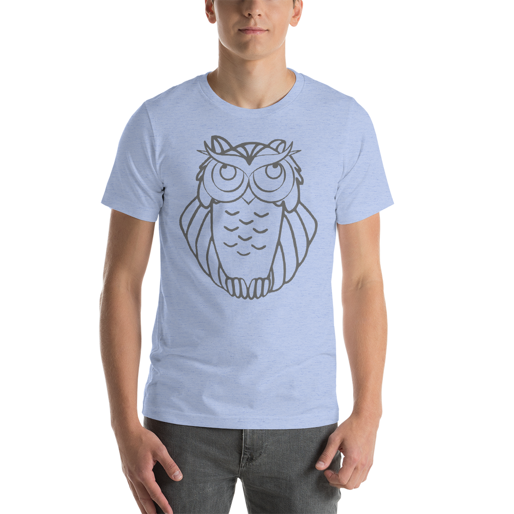 Hip T-Shirts with Owl Original Designs