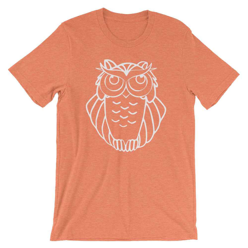 Hip Owl T-Shirt from Ironic Owl