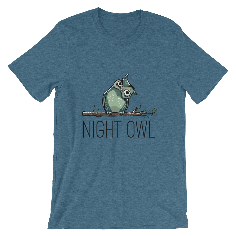 NIGHT OWL/ Unisex T-Shirt