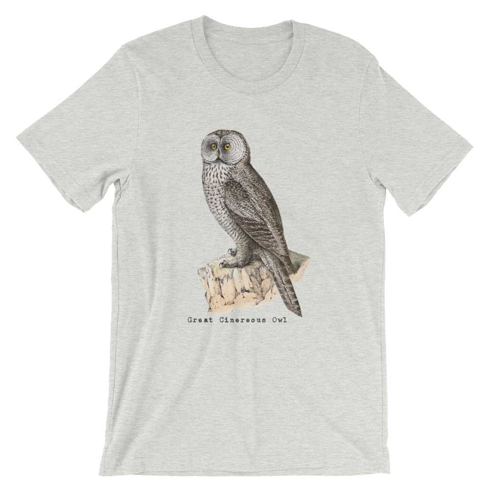 GREAT CINEREOUS VINTAGE/Unisex T-Shirt