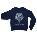 GREEN EYED BABY/UNISEX CALIFORNIA FLEECE SWEATSHIRT