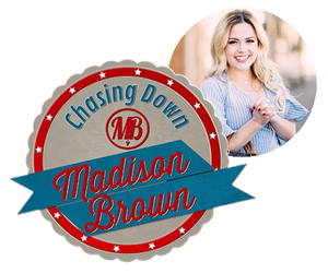 Featured on Chasing Down Madison Brown