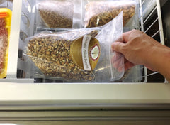 How I store pecan nuts in my freezer