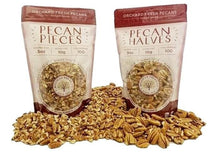 Load image into Gallery viewer, Buy Fresh Pecan Halves and Chopped Pecan Pieces for sale