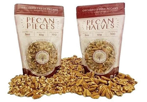 Buy Fresh Pecan Halves and Chopped Pecan Pieces for sale
