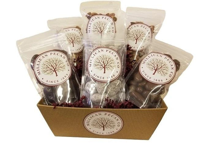 Buy Sampler Pecan Gift Basket Flavored Pecans