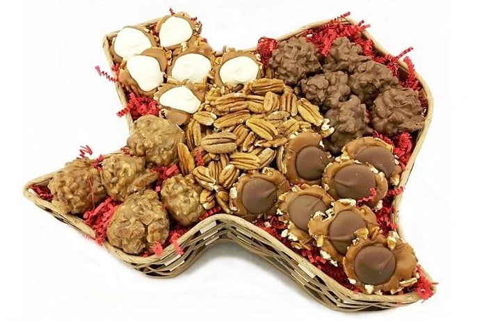 Buy Texas Pecan Candy Basket For Sale