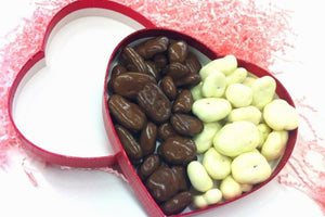 Chocolate Pecan Heart Box