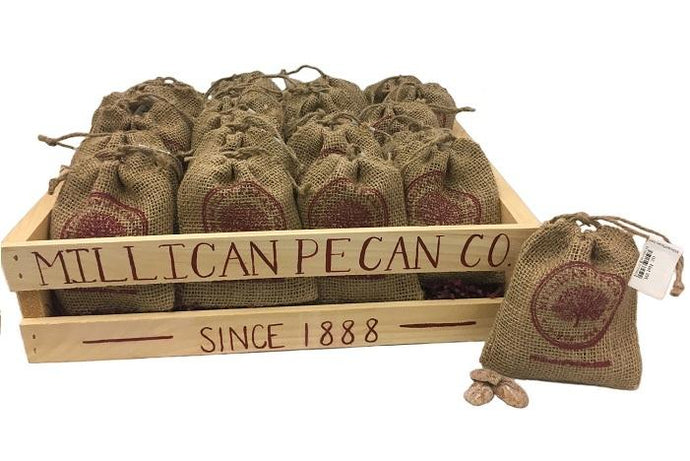 4oz Cinnamon Pecan Halves Crate