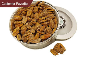 Cinnamon Candied Pecans - Gift Tin