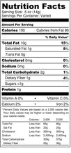 Load image into Gallery viewer, Cracked Pecans - nutrition label