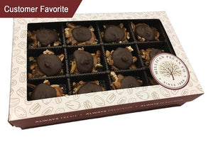 Dark Chocolate Turtle Caramillicans - Gift Box