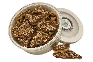 Dark Chocolate Pecan Toffee - Gift Tin