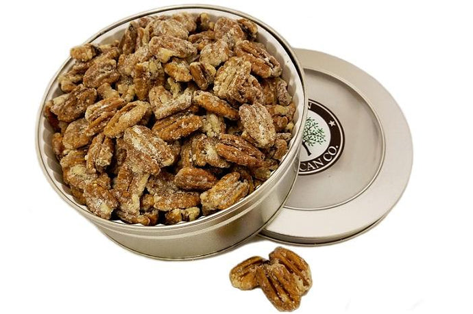 Honey Roasted Pecans - Gift Tin