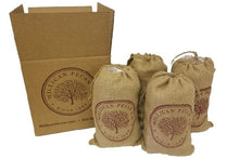 Load image into Gallery viewer, Cracked Pecans 3 lb Burlap Bag - Case of 4