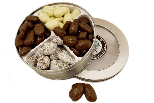 Four Chocolate Pecan Gift Tin