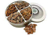 Load image into Gallery viewer, Four Flavors Pecan Gift Tin