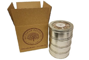 Four Flavors Pecan Gift Tin - Case of 4