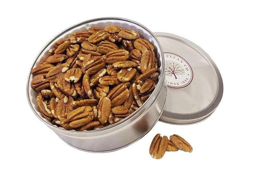Millican Pecan Shelled Pecan Halves Gift Tin