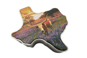Texas Bluebonnet Pecan Gift Tin
