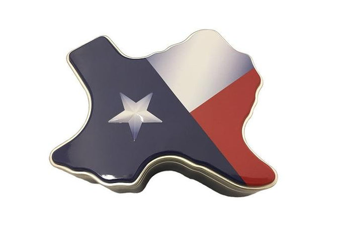 Texas Flag Gift Tin
