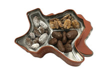 Load image into Gallery viewer, Texas Longhorn Gift Tin - combination of pecans