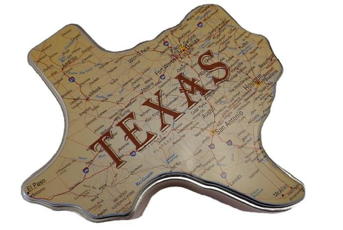 Millican Texas Roadmap Gift Tin