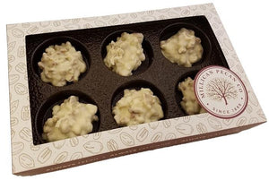 White Chocolate Pecan Clusters - Gift Box
