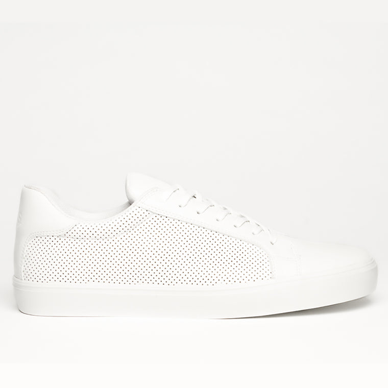 NY CLASSIC WHITE MONOCHROME SNEAKERS