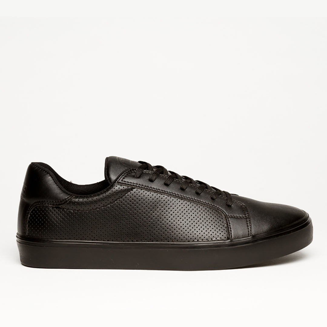 NY CLASSIC BLACK MONOCHROME SNEAKERS