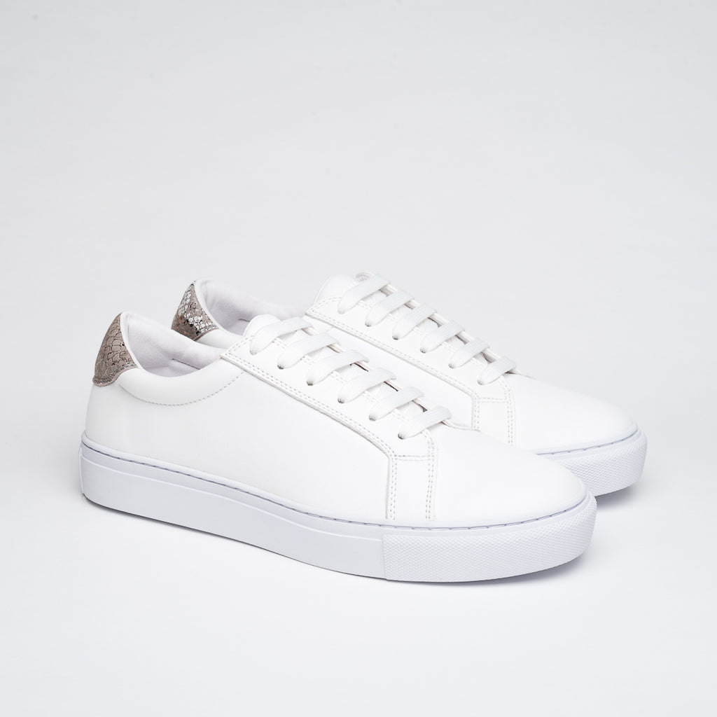 PERFECT WHITE ANIMAL PRINT  DRESSY SNEAKERS