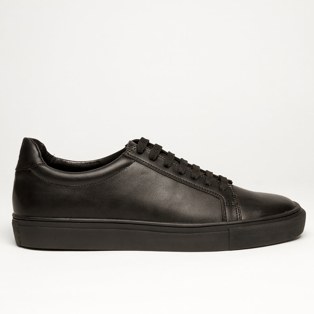 SOLID BLACK  1 /MM BASSIC SNEAKERS