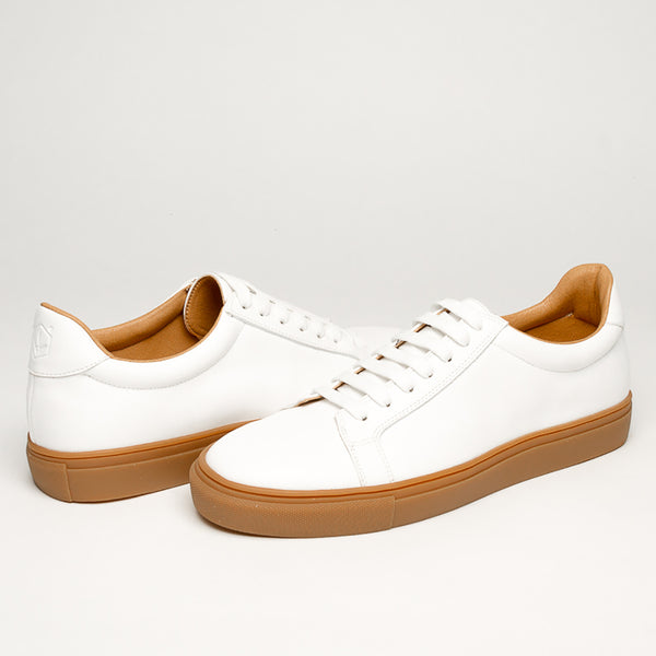 WHITE & RUBBER  1 /MM BASSIC SNEAKERS