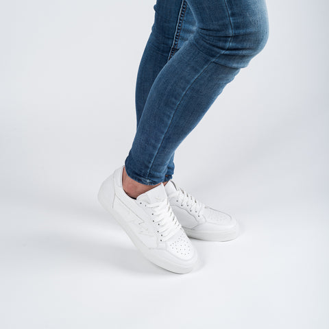 CLEAN WHITE VEGAN MERCURY L/F SNEAKERS