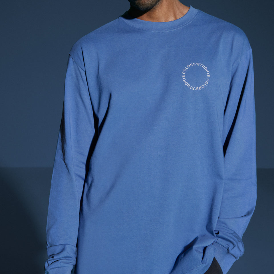 """CIRCLE"" LONGSLEEVE NAVY"